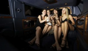 Girls Night Out In A Limousine w Expedient Limo